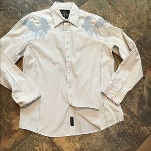 Roar cowboy shirt, beautiful stitching